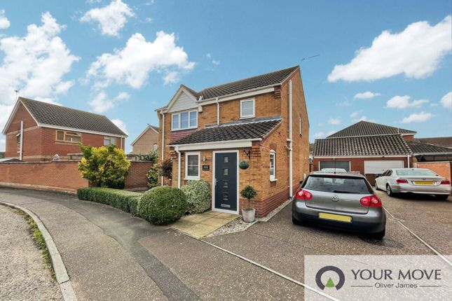 Thumbnail Detached house to rent in Caraway Drive, Bradwell, Great Yarmouth