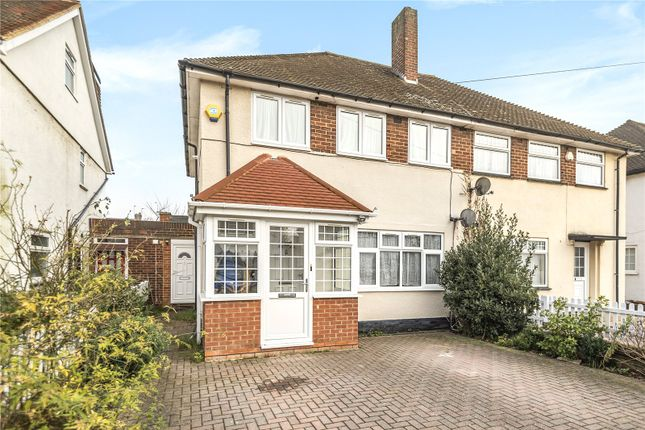 Semi-detached house for sale in Regent Avenue, Hillingdon, Middlesex