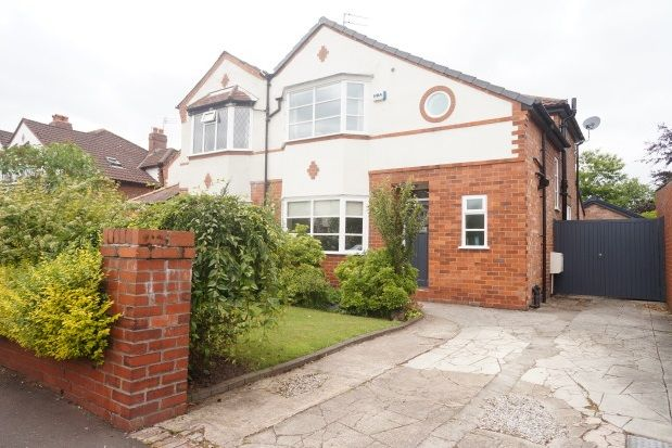 Thumbnail Property to rent in Spath Road, Didsbury, Manchester