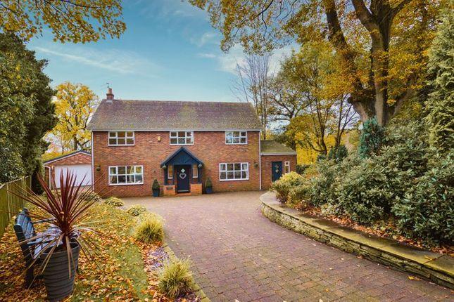 Thumbnail Detached house for sale in Park Wood Drive, Baldwins Gate, Newcastle-Under-Lyme