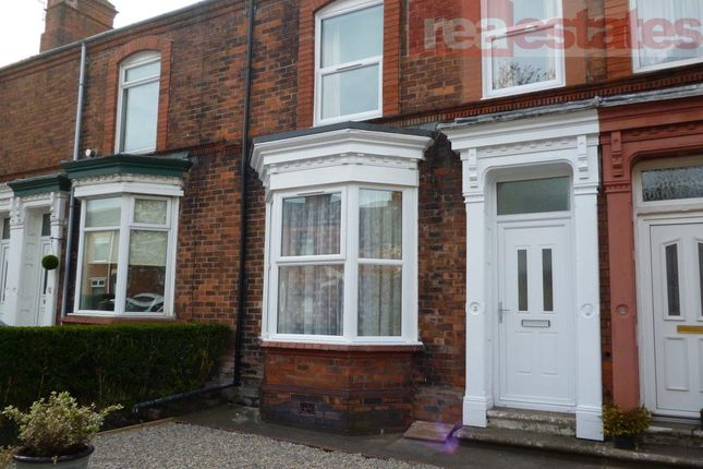 Thumbnail Terraced house to rent in Oxford Terrace, Bishop Auckland