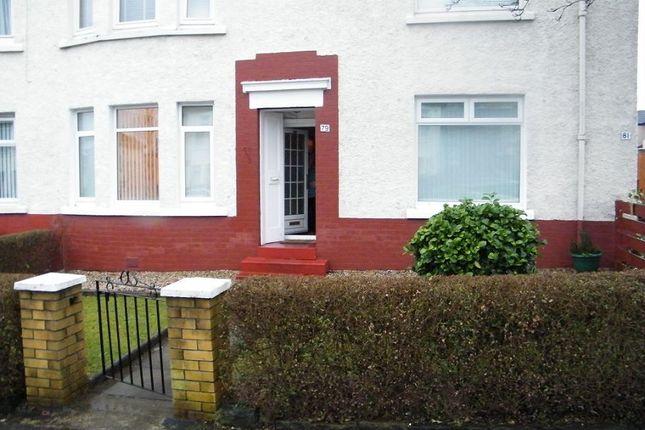 Thumbnail Flat to rent in Cloberhill Road, Knightswood, Glasgow