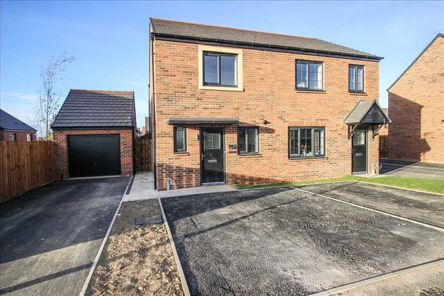 Thumbnail Semi-detached house to rent in Plot 31, St Nicholas Manor, Cramlington