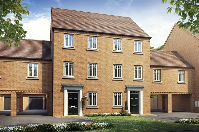 """Thumbnail Semi-detached house for sale in """"Cannington"""" at Crick Road, Hillmorton, Rugby"""