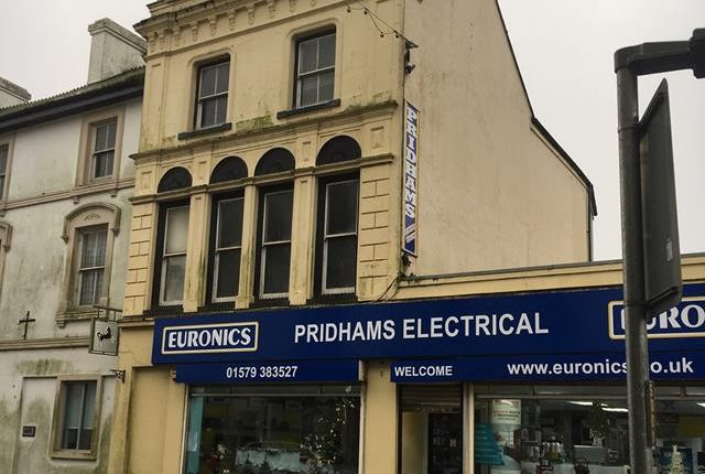 Thumbnail Retail premises for sale in 14 Fore Street, Callington, Cornwall