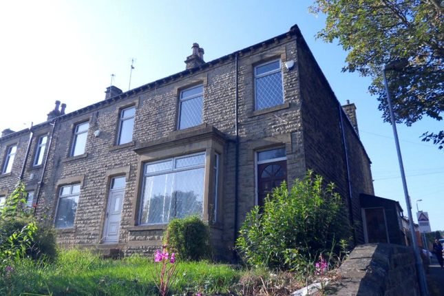 Thumbnail End terrace house to rent in Bradford Road, Batley, West Yorkshire