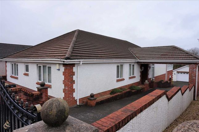Detached bungalow for sale in Clos Y Dderwen, Cross Hands, Llanelli