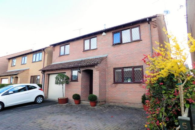 Thumbnail Detached house for sale in Preston Close, Upton, Poole