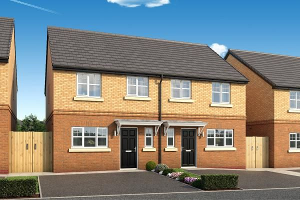 "Thumbnail Property for sale in ""The Kellington At The Woodlands "" at Newbury Road, Skelmersdale"