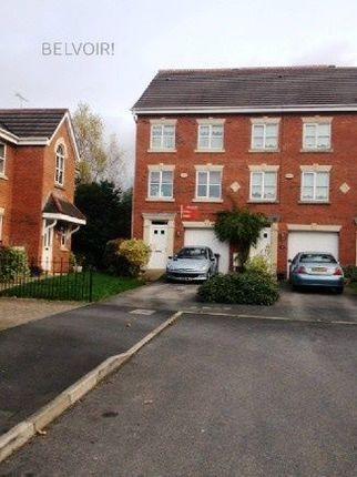 Thumbnail Town house to rent in Herons Wharf, Appley Bridge, Wigan