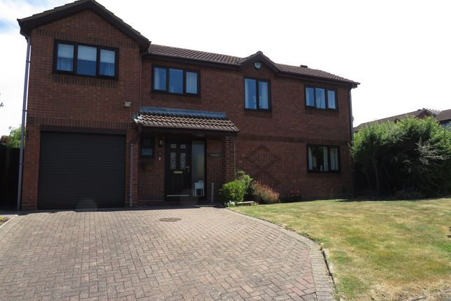 Thumbnail Detached house for sale in Middlesmoor, Wilnecote, Tamworth