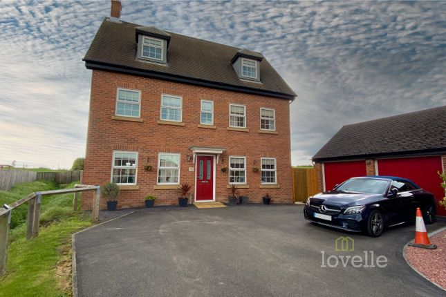 Thumbnail Detached house for sale in Irwin Road, Blyton, Gainsborough
