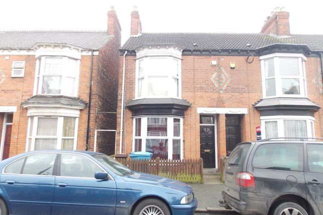 Thumbnail End terrace house for sale in Edgecumbe Street, Kingston Upon Hull