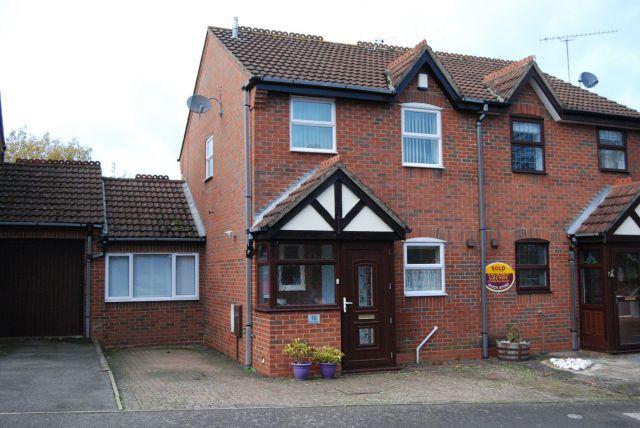 Thumbnail Semi-detached house to rent in Eton Close, Weedon, Northampton