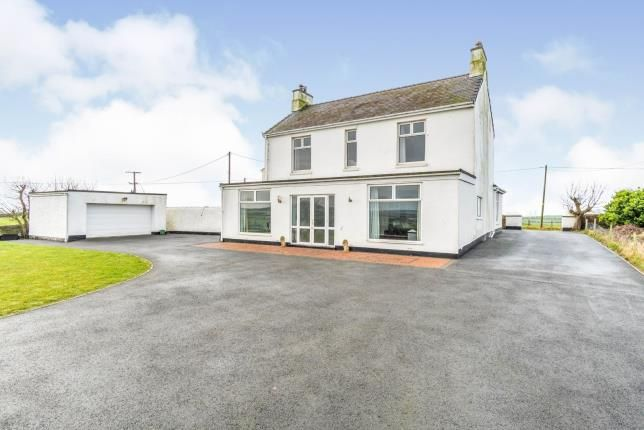 Thumbnail Detached house for sale in Burwen, Amlwch, Anglesey, Sir Ynys Mon