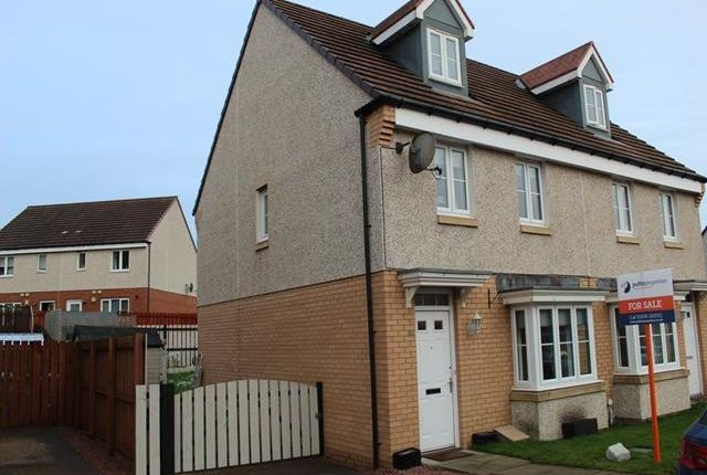 Thumbnail Town house for sale in Hoy Gardens, Carfin, Motherwell