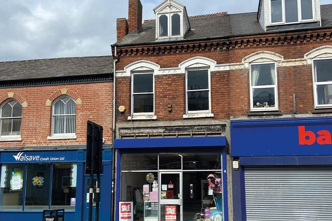 Thumbnail Retail premises for sale in 183 High Street, Bloxwich, Walsall