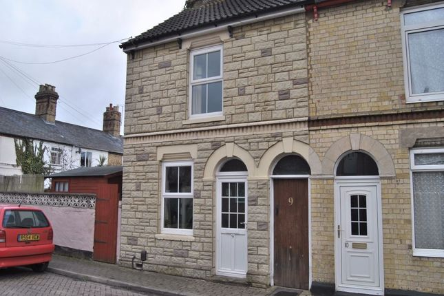 Thumbnail End terrace house to rent in Sayer Street, Huntingdon