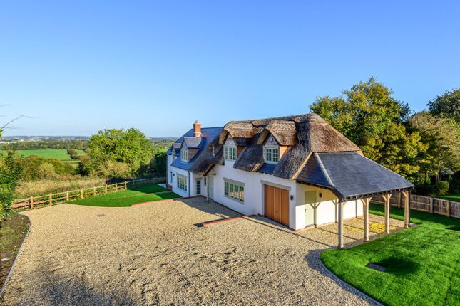 Thumbnail Detached house for sale in Church Road, Wanborough