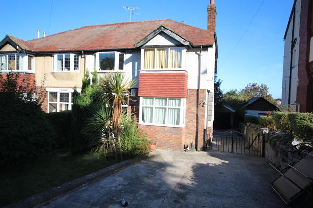 Thumbnail Semi-detached house for sale in Conway Road, Colwyn Bay
