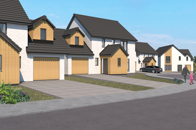 Thumbnail Detached house for sale in Plot 6 The Kingsway, Castle Grange, Off Old Quarry Road, Ballumbie, Dundee