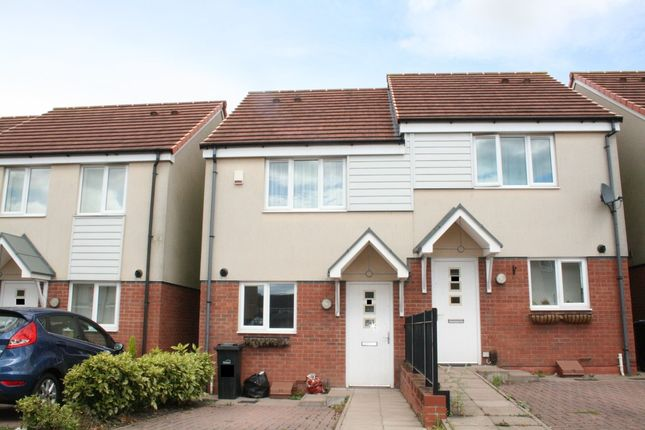 Thumbnail Semi-detached house to rent in Bradfield Way, Dudley
