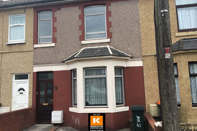 Terraced house to rent in Nash Road, Newport