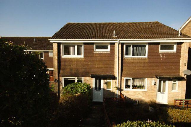 Thumbnail Semi-detached house for sale in Burden Close, Bodmin