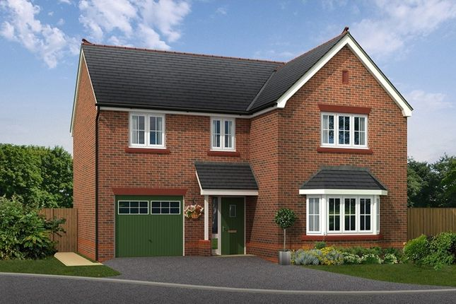 "Thumbnail Detached house for sale in ""Bordesley"" at Boundary Park, Parkgate, Neston"
