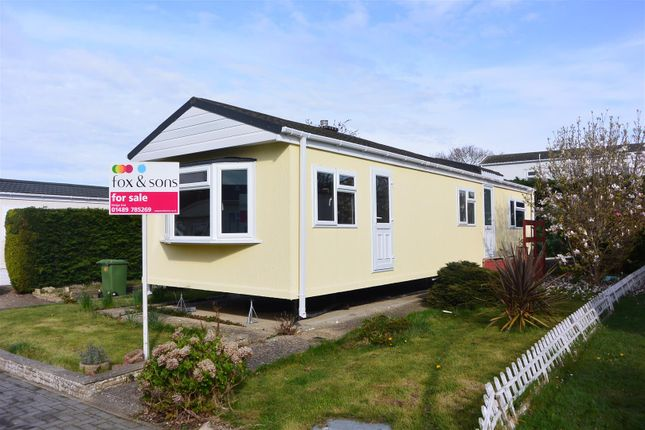 Thumbnail Mobile/park home for sale in Fleet End Road, Warsash, Southampton