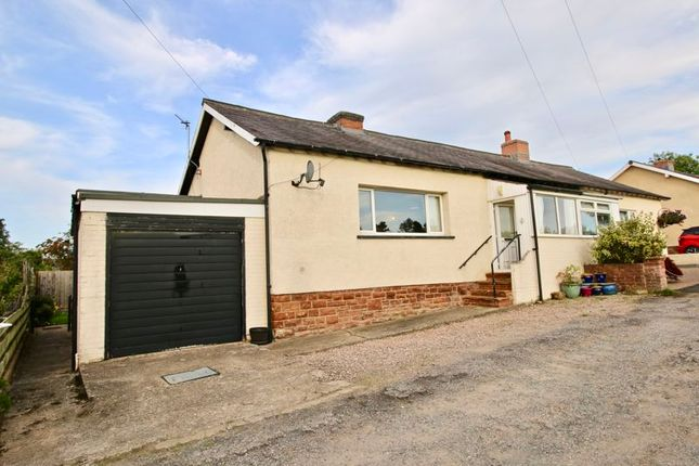 Thumbnail Semi-detached bungalow for sale in 19 Ladysteps, Scotby, Carlisle