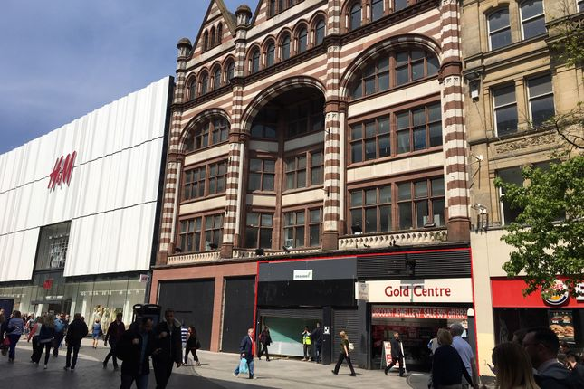 Retail premises to let in 85-89 Lord Street, Liverpool L2, Liverpool,