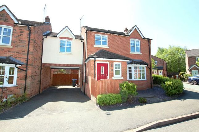 Thumbnail Detached house for sale in Briarswood, Biddulph, Stoke-On-Trent