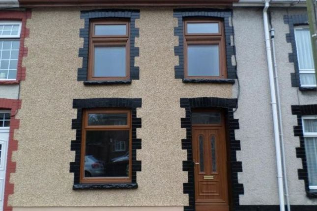 Thumbnail Terraced house to rent in Trealaw Road, Tonypandy