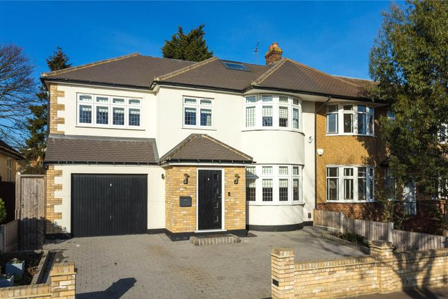 Thumbnail Semi-detached house for sale in Faversham Avenue, North Chingford, London