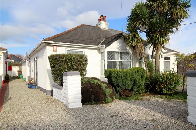 Thumbnail Semi-detached bungalow for sale in Bowden Park Road, Crownhill, Plymouth