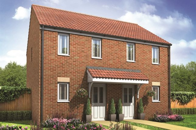 "Thumbnail End terrace house for sale in ""The Morden"" at Darlington Road, Northallerton"