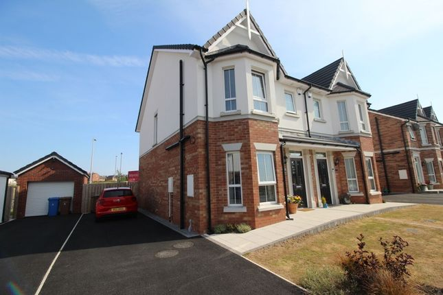 Thumbnail Semi-detached house for sale in Green Road, Bangor