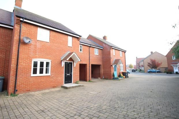 Thumbnail Semi-detached house to rent in Swan Road, Wixams