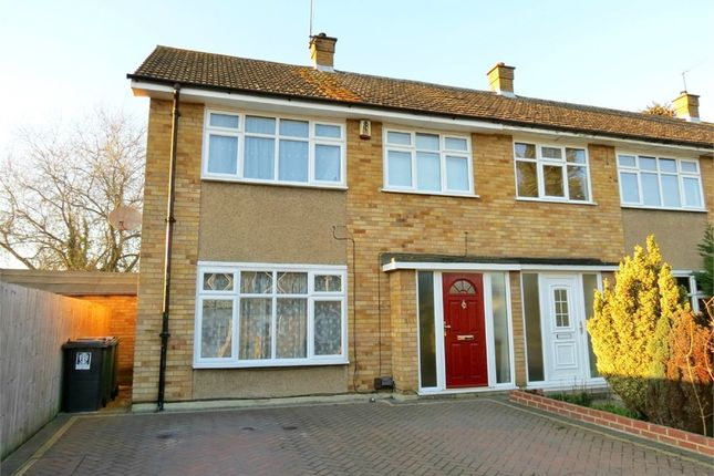 End terrace house for sale in Leaford Crescent, Watford, Hertfordshire