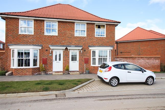 Thumbnail 3 bedroom semi-detached house for sale in Corminster Avenue, Aylesham, Canterbury