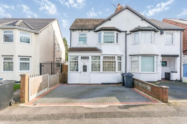 Thumbnail Semi-detached house for sale in Cateswell Road, Hall Green, Birmingham, West Midlands