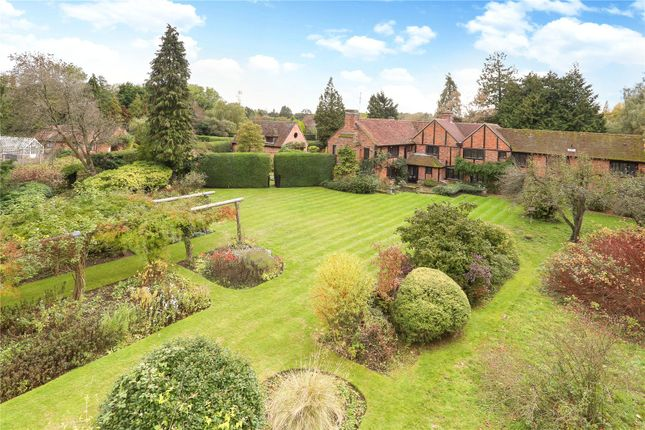 Thumbnail Detached house for sale in Pilcot Hill, Dogmersfield, Hook, Hampshire