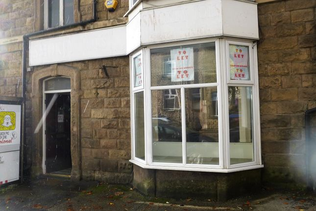 Retail premises to let in Fairfield Road, Buxton