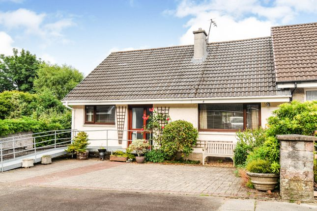 Thumbnail End terrace house for sale in Kindar Drive, New Abbey, Dumfries, Dumfries And Galloway