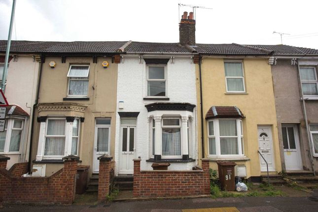 Thumbnail Terraced house to rent in Ethel Maud Court, Richmond Road, Gillingham