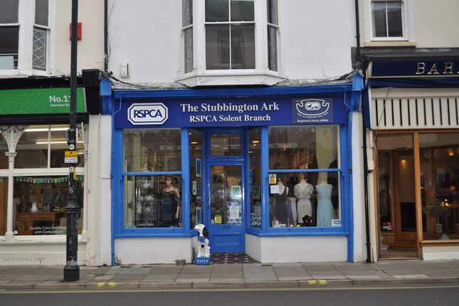 Thumbnail Retail premises to let in 13 Marmion Road, Southsea