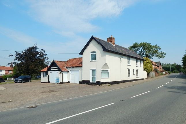 Thumbnail Retail premises for sale in Cross Keys Garage, Common Road, Shelfanger, Diss, Norfolk