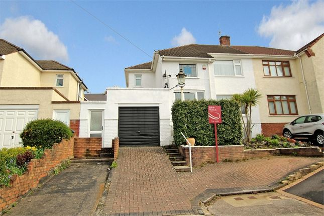 Thumbnail Semi-detached house for sale in Borrowdale Close, Penylan, Cardiff