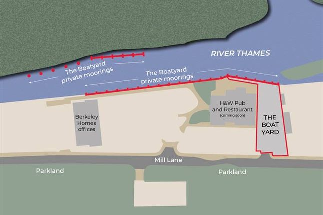 Thumbnail Commercial property for sale in The Boatyard, Mill Lane, Taplow, Maidenhead